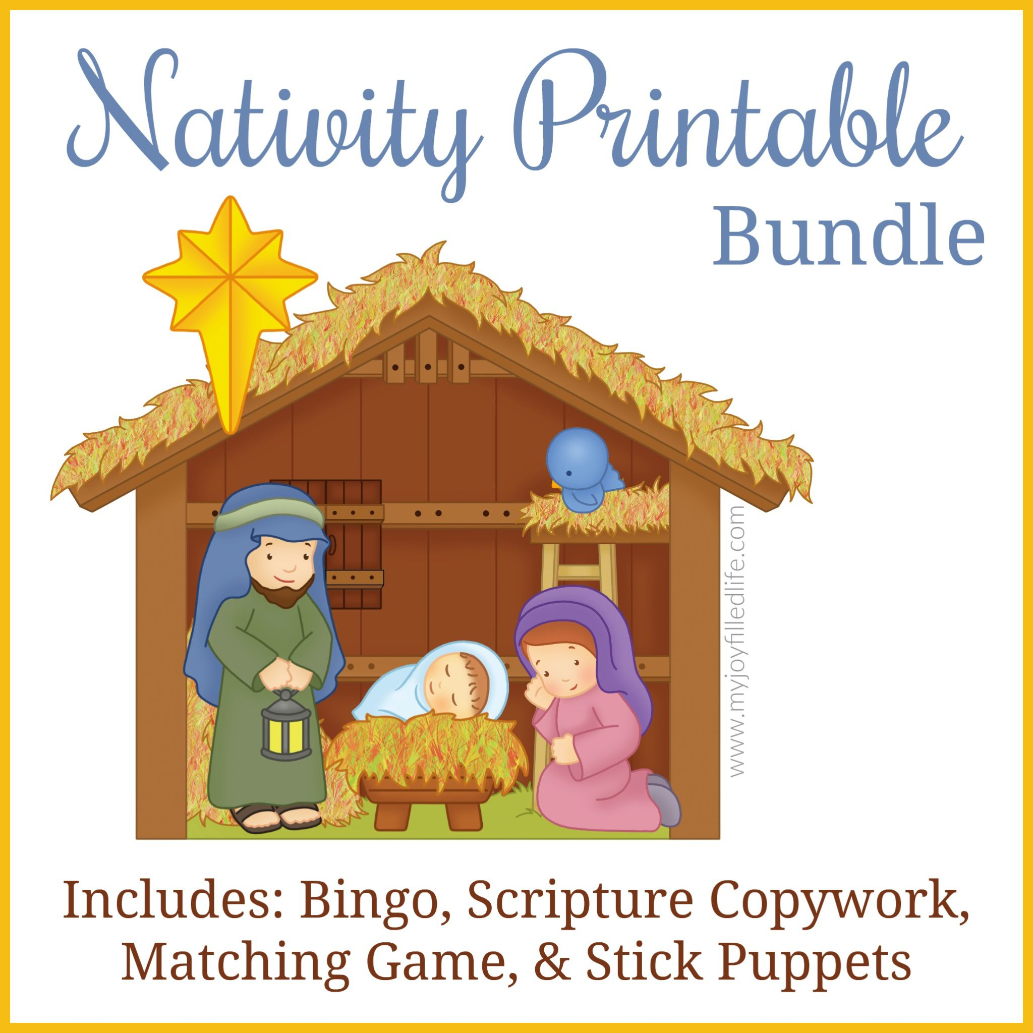 Printable Nativity Bundle